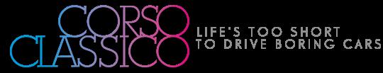 Corsoclassico – classic lifestyle & Benzinkultur logo